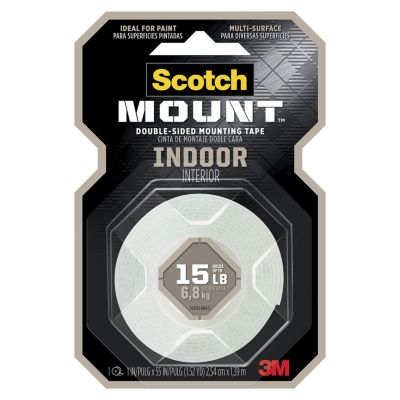 Cinta Adhesiva para Interiores 25.4 mm x 1.27 m