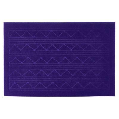 Alfombra Texture Azul 38x57cm