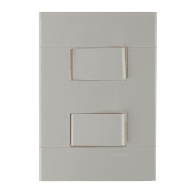 Interruptor Doble Decor Blanco