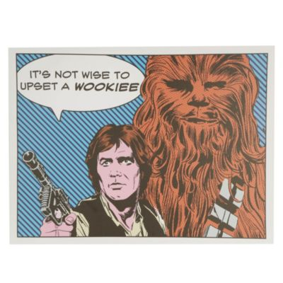 Canvas Wookiee 60x80cm
