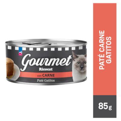 Gourmet cachorros paté de carne 3 onzas