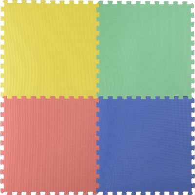 Piso puzzle colores 60x60cm