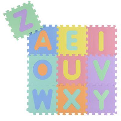 Piso puzzle letras 30x30cm