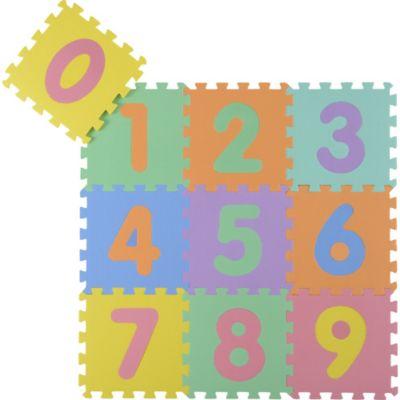 Piso puzzle números 30x30cm