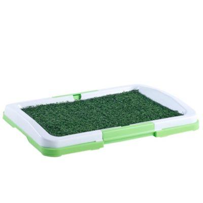 Baño pequeño para mascota verde