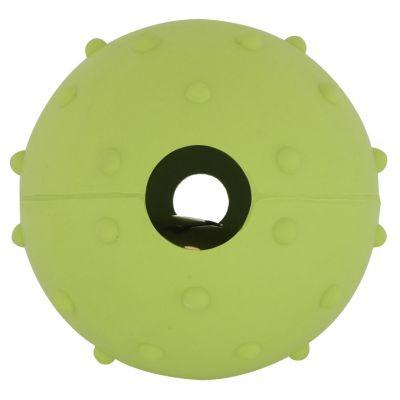 Pelota pequeña de jebe verde