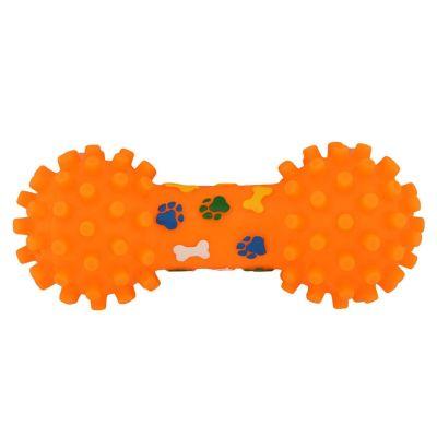 Jugueta mancuerna naranja