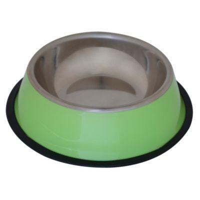 Plato de acero verde