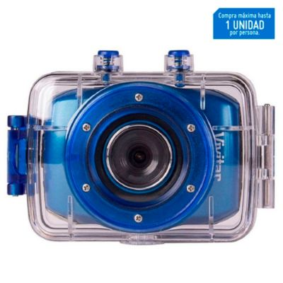 "Cámara Digital 1.8"" HD 5 MP Azul"