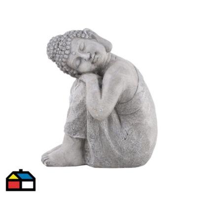 Buda reposando piedra