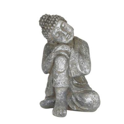 Adorno para jardín Buda meditando