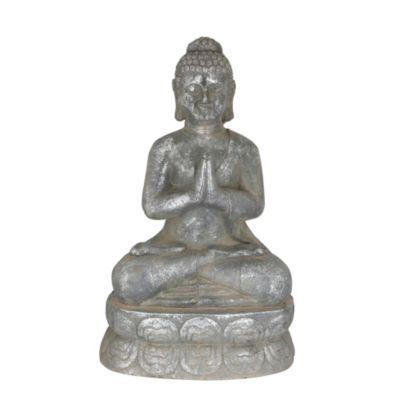 Buda reposando plata