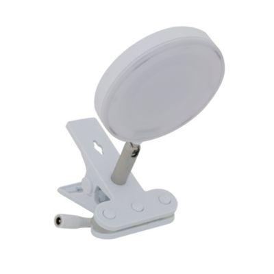 Lámpara de escritorio Pinza Bianco blanco
