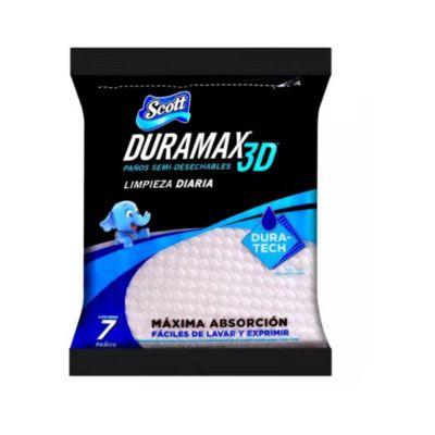 Paño Reutilizable Scott Duramax x 7 unidades