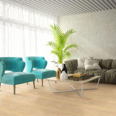 Cerámica Olive Amarillo Maderado 46x46cm para piso o pared