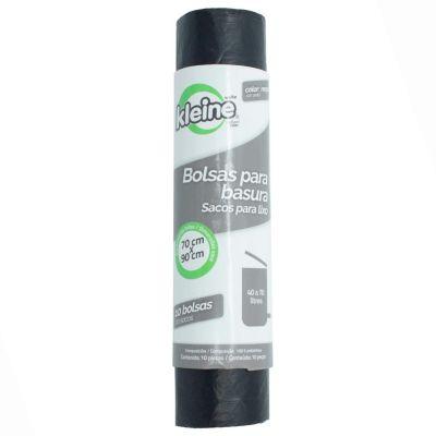 Bolsa para Basura Negra 70 x 90 cm 70 L 10 Unid.