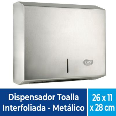 Dispensador papel interfoliado