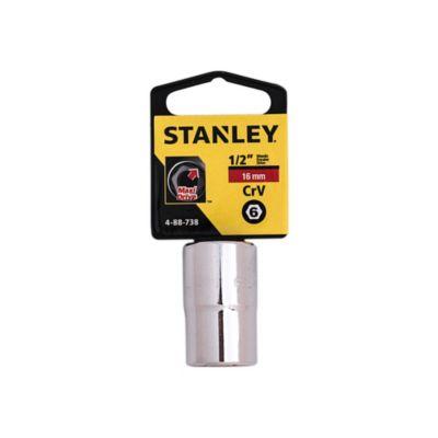 Dado Estándar 4-88-738 1/2'' 6PT 16 mm Plateado