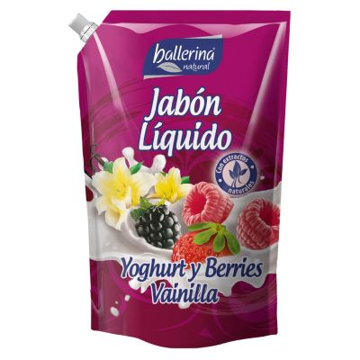 Jabón líquido yoghurt y berries vainilla 900ml