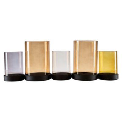 Portavelas de Vidrio Basic 45 cm
