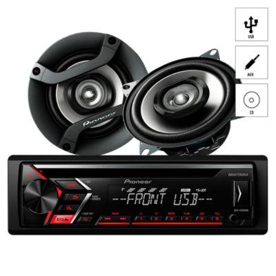 Autoradio CD/USB/AUX + 2 Parlantes DXT-S106UB