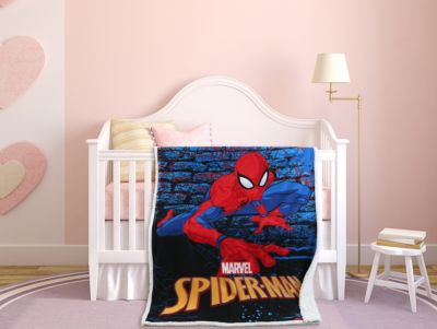 Manta Sherpa Spiderman 125x150cm
