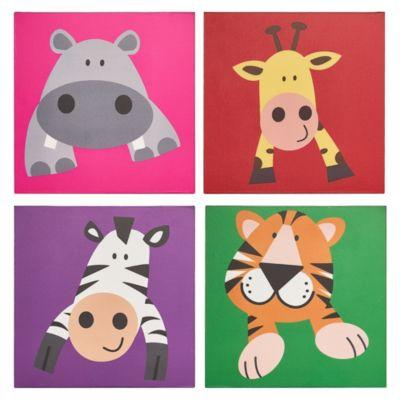 Pack Cuadro Animalitos 15x15cm