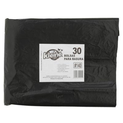 Set de 30 bolsas para basura 140L