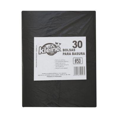 Pack de 30 bolsas de basura 50L