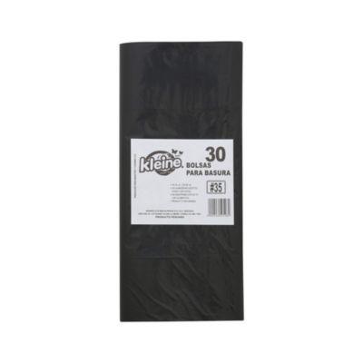 Pack de 30 bolsas de basura 35L