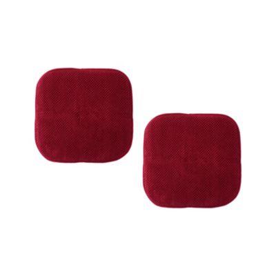 Set 2 Cojines Memory 40x40cm Rojo