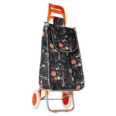 Carro de compras Mango Naranja
