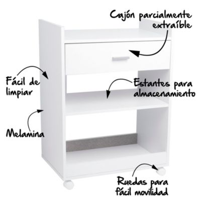 Mueble para Microondas 60 x 39 cm