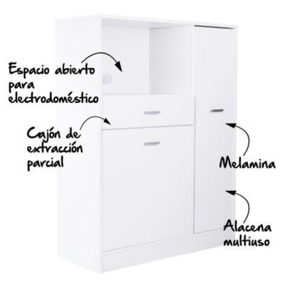 Mueble de Cocina Completo 90 x 39 x 120 cm