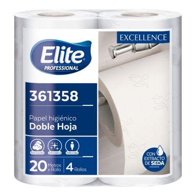 Pack de 4 papel higiénico Excellence 20m