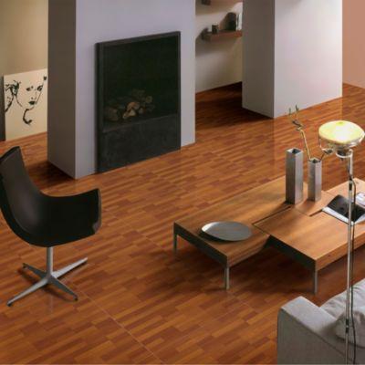 Cerámica Madera Luxury Marron Maderado 45x45cm para piso o pared