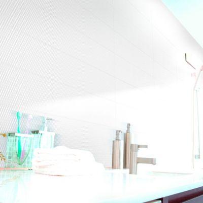Cerámica Incanto Bianco Textil 20x61cm para piso o pared