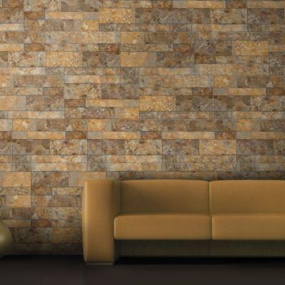 Cerámica Morisca Beige Fachaleta 34x60cm para piso o pared