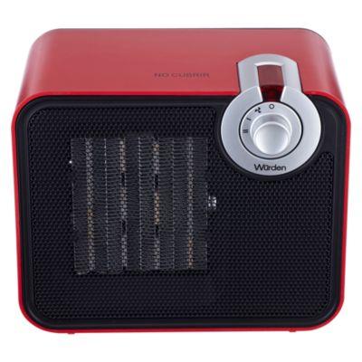 Termoventilador PC-004-9C Rojo
