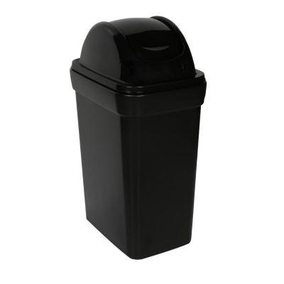 Papelero Ahorra espacio Bodeguita 35 L Negro