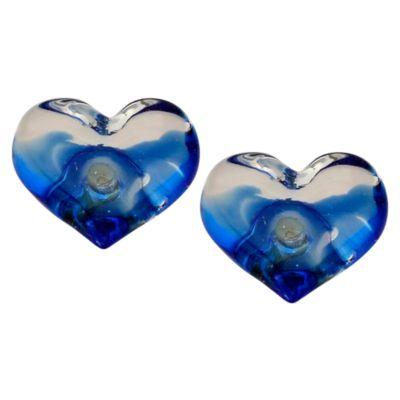 Pack de 2 Pomos 34mm Cristal Corazón