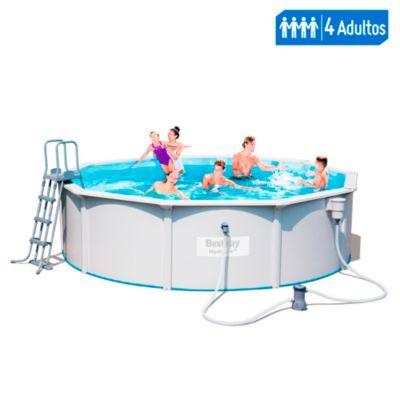 Set piscina estructural Hydrum redondo 4.60m