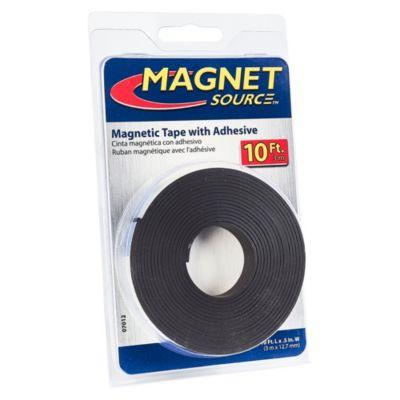 Cinta Magnética con Adhesivo
