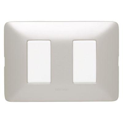 Interruptor Doble Matix Aluminio