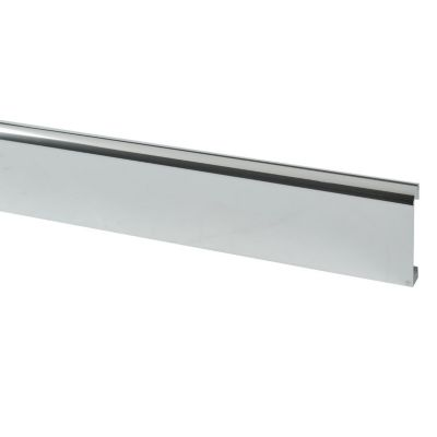 Zócalo Pasacable Aluminio Brillante 240x7cm