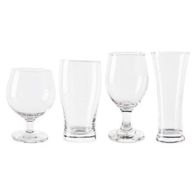 Set de 4 Vasos Cerveceros de Vidrio