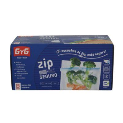 Bolsa Zip sandwich Basa