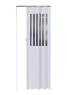 Puerta Plegable Venus PVC 120 x 200 cm Blanca