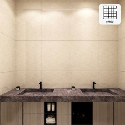 Cerámica Beige Marmolizado 30x60 cm para pared