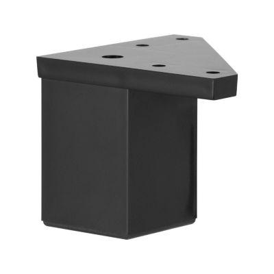Pata Cuadrada 40x60mm Negro